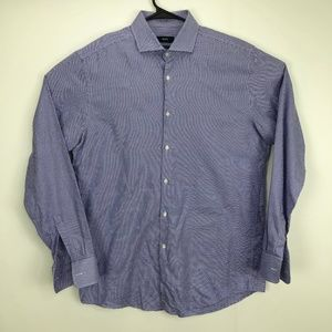 Hugo Boss Sharp Fit Shirt Purple 16.5 - 34 / 35